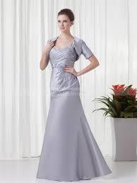 Cherry - Herz-Ausschnitt Taft bodenlangen Abendkleid mit kurzen ...