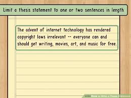 Writing A Thesis Statement The Best Way To Write A Thesis Statement With Examples