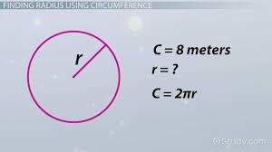 finding the radius formula concept