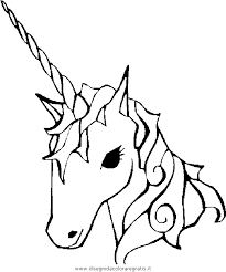 Disegno Unicorno05 Categoria Fantasia Da Colorare
