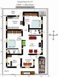 extraordinary south facing home plan vastu plans house for plot with two bedrooms