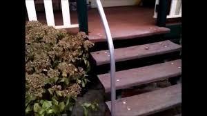 handrail using steel pipe diy