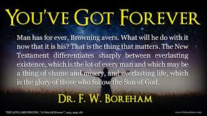 Quotable Quotes By Dr Fw Boreham Keep Your Social Media Posts Fresh