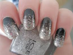 Gold silver nail designs - how you can do it at home. Pictures ...