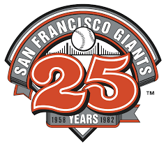 San Francisco Giants Anniversary Logo - National League (NL) - Chris ...