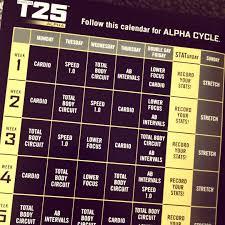 focus t25 calendar shaun t t25 workout eoua
