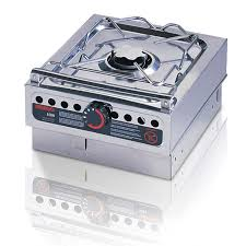 portable stove top burner. origo: 1500, metho single burner bench top stove portable