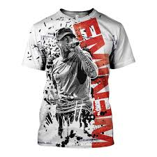 Eminem Merch Size Chart 3d All Over Printed Eminem Singer Shirts And Shorts