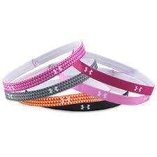 under armour headbands for girls. girls\u0027 graphic headbands - 6 pack under armour headbands for girls