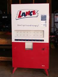 Milk Vending Machine Fallout 4 Cool Vintage LanceSnacks 48cent Vending Machine The History Of Lance
