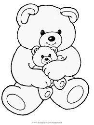 Disegno Teddybear06 Animali Da Colorare