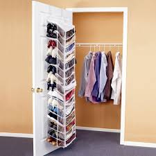 step 1 hang the sweater organizer in the closet or on a door