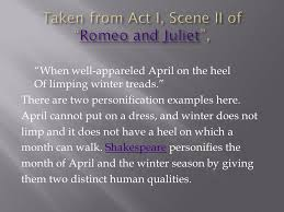 a short story typically animals conveying a moral ppt taken from act i scene ii of romeo and juliet