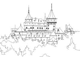 Disegno Di Castello Da Colorare Disegni Da Colorare E Stampare Gratis