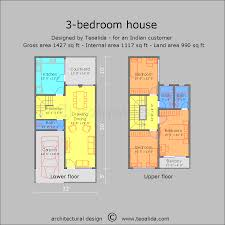 architectural plans of houses. 2BHK House Plan 3BHK Architectural Plans Of Houses