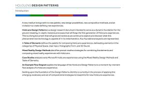 What Is Design Pattern Delectable HoloLens Design Patterns Heather Raikes
