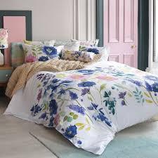 florrie duvet cover super king bluebellgray
