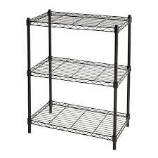 wall unit contemporary 22 wide shelving unit luxury realspace wire shelving 3 shelves 30 h x