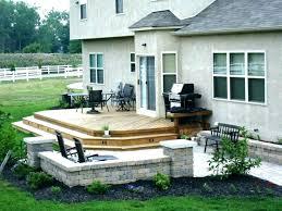 Small Deck Designs Backyard Custom Small Backyard Deck Ideas NapaWineTours