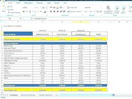Expense Template In Excel Free Monthly Expenses Template