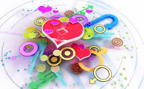cute wallpapers for desktop 3d. Beautiful For Free Cute 3D Valentineu0027s Day Heart Desktop Wallpaper Wallpaper  In Wallpapers For 3d