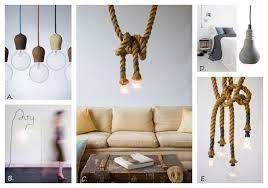 bare bulb lighting. Image A. Pendant Light Bare Bulb Lighting