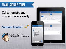 constant contact signup form datafield pricing features reviews comparison of alternatives