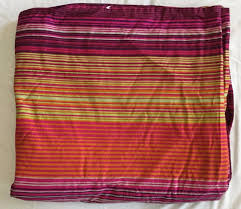 smart ikea andrea satin pink purple orange green striped king duvet cover ikea andrea satin pink