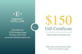 Gift Certificate Template With Logo Free Business Gift Certificates Templates Examples