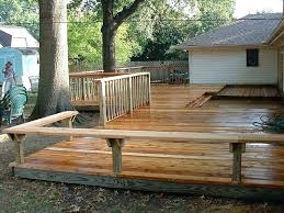 wood deck bench you want a beautiful deck to relax and enjoy the outdoors then contact wood deck bench
