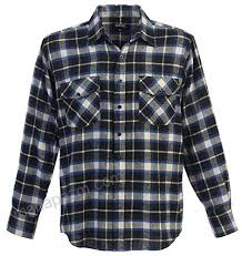 Gioberti Mens Flannel Shirt Black Blue Size Xx Large At