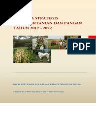 Majalah 3 (2020)   penjaga pantai teluk bahang bhg. Renstra Dinas Pertanian Dan Pangan 2017 2022