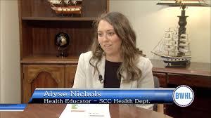 Blue Water Buzz: Alyse Nichols, Health Educator, St. Clair County ...