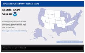 Noaa Launches New Nautical Chart Catalog News Updates