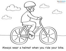 Small Picture Coloring Sheets for Summer Safety