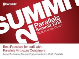 virtuozzo best practices for iaas with parallels virtuozzo containers