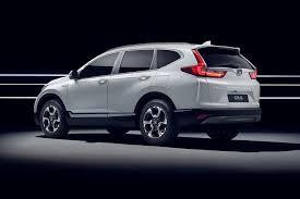 Honda CR-V Hybrid Prototype revealed