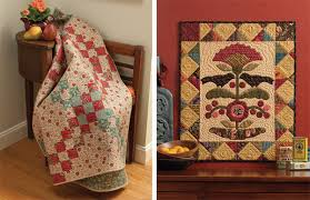 """Free patchwork download from Kim Diehl - Stitch This! The ... & Roundabout Crisscross and Blackbirds and Berries quilts """" Adamdwight.com"""
