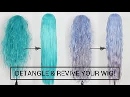 Detangle and Revive Cosplay Wigs Like A PRO + PREVENT ...