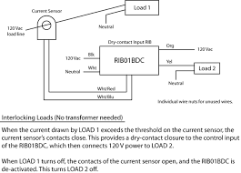 faq functional devices inc how do i interlock loads using current sensor and a rib relay