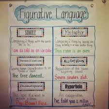 Shampoo Figurative Language Anchor Chart Www