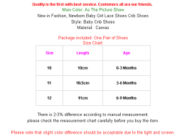 Baby Girl Shoe Size Chart 2019 Summer Newborn Infant Baby Girl Princess Soft Crib Sole Lace Floral Riband Non Slip Ballet Shoes