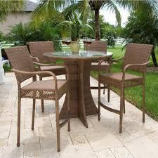outdoor high top table set bar height outdoor table outdoor bar sets clearance high top outdoor bistro set