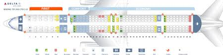 seat map boeing 757 300 delta airlines best seats in plane of
