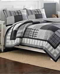 Nautica Bedroom Furniture Closeout Nautica Gunston Quilt Collection 100 Cotton Bedding