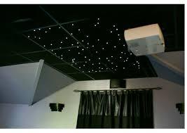 fiber optic led ceiling tiles for drop
