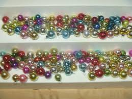 vintage 150 mini miniature mercury glass ball ornaments feather tree