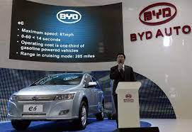 daimler byd in china electric car