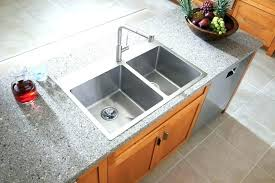 top mount sink on granite granite sink vs stainless steel granite sink vs stainless steel marvelous