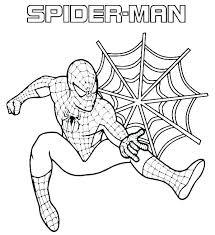 Spider Man Coloring Dawnaldermandesign Co